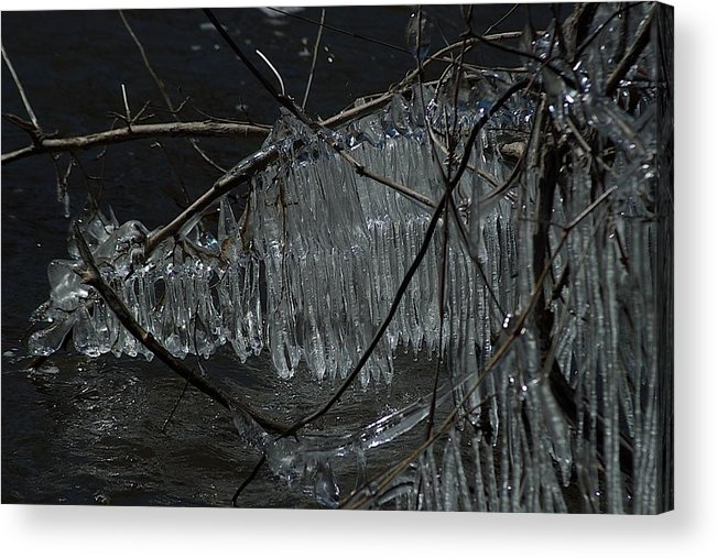 Ice Acrylic Print featuring the photograph Symphony by Joseph Yarbrough