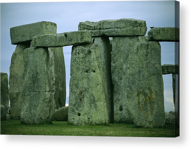 Europe Acrylic Print featuring the photograph The Ancient Ruins Of Stonehenge by Joel Sartore