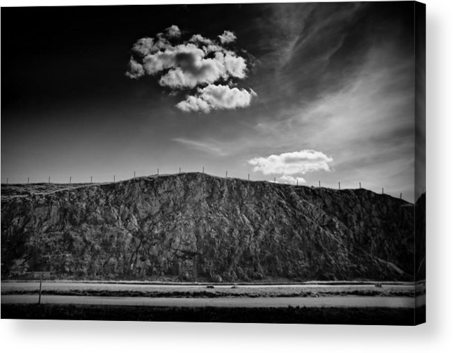 Cloud Acrylic Print featuring the photograph The Cloud by Dorit Fuhg