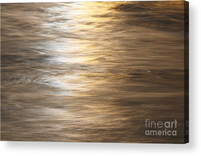 Water Acrylic Print featuring the photograph The Flow by Robert Pearson