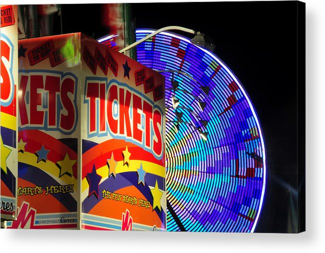 Fine Art Photography Acrylic Print featuring the photograph The Fun Starts Here by David Lee Thompson