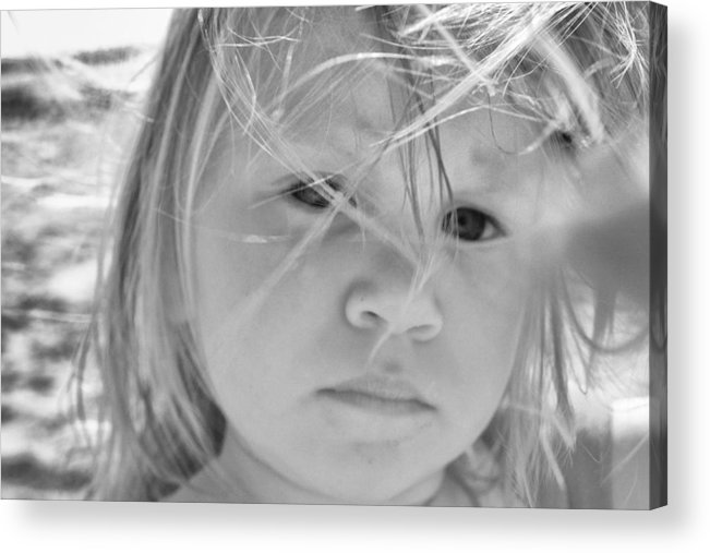 Girl Acrylic Print featuring the photograph The Innocent by Kelly Reber