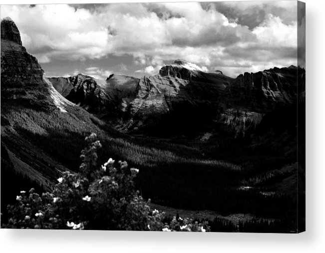 Snow Acrylic Print featuring the photograph The Valley by Joseph Noonan