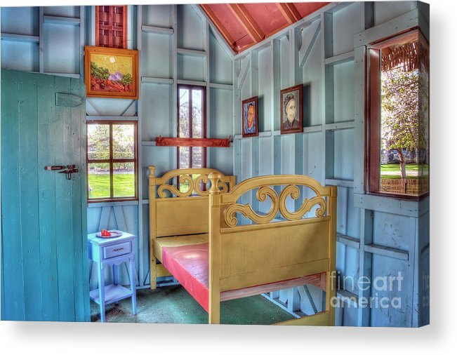 vincent Van Gogh Acrylic Print featuring the photograph The Vincent Van Gogh Small House by Tamyra Ayles