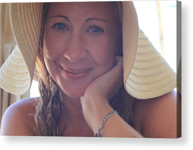 Woman Acrylic Print featuring the photograph This Smile Was For You by Laurie Search