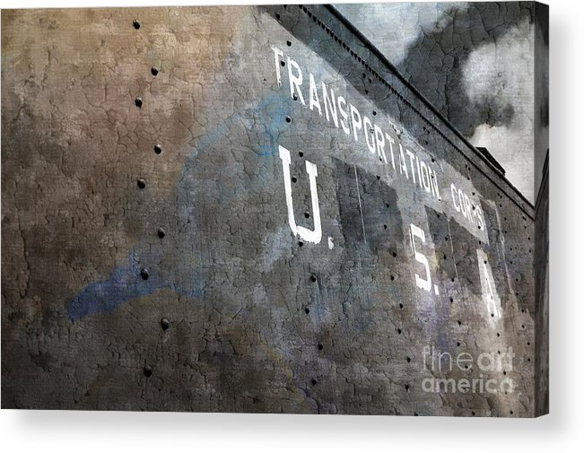 Transport Acrylic Print featuring the photograph Transportation Corps by Dariusz Gudowicz