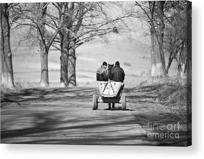 Road Acrylic Print featuring the photograph Transportation by Gabriela Insuratelu