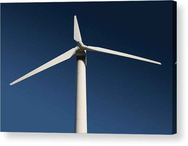 Wind Acrylic Print featuring the photograph Turbine by Brian Middleton