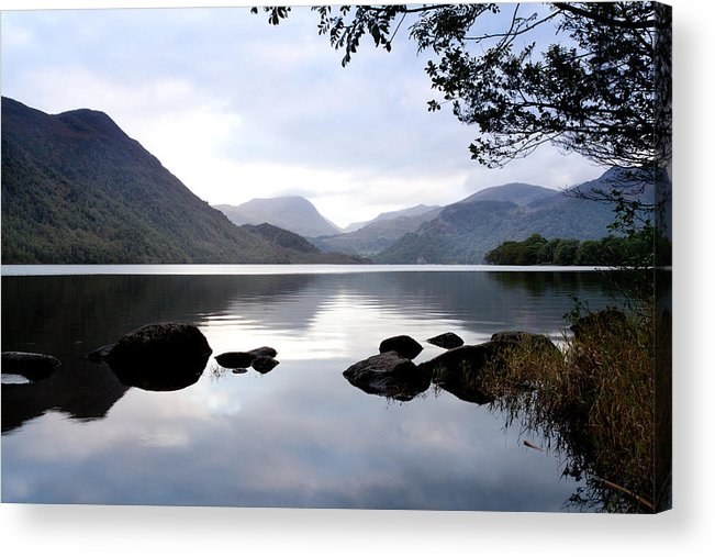 Ullswater Acrylic Print featuring the photograph Ullswater Lull by Peter Chadwick
