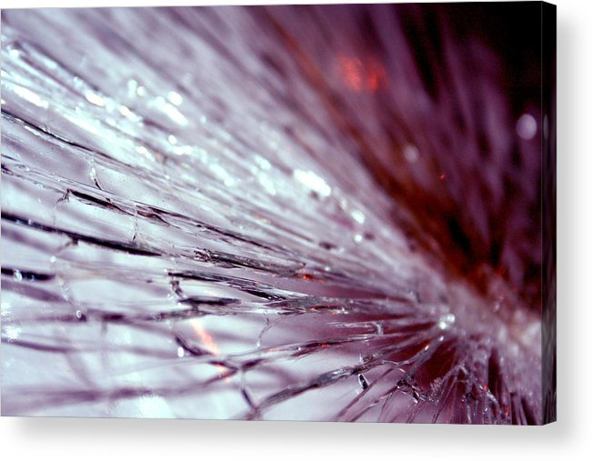 Glass Acrylic Print featuring the photograph Unsettled Mind by Stephanie Andrews