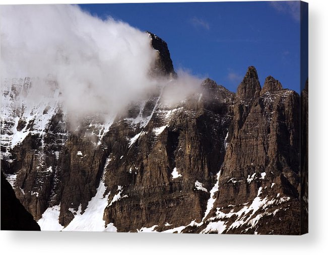Landscape Acrylic Print featuring the photograph Up Close Of Mountain by Amanda Kiplinger