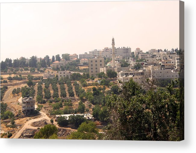 Bethel Acrylic Print featuring the photograph Village Of Beitin by Munir Alawi