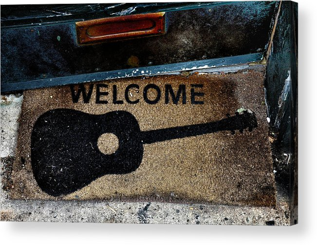 Welcome Acrylic Print featuring the photograph Welcome by Bill Cannon
