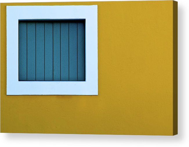 Horizontal Acrylic Print featuring the photograph Window by L F Ramos-Reyes