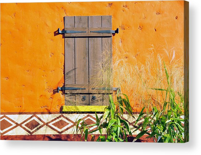 Fine Art Photography Acrylic Print featuring the photograph Window To Africa by David Lee Thompson