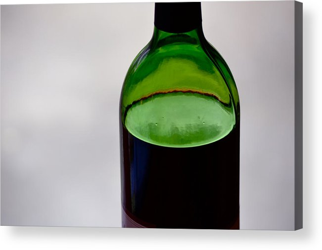 Wine Acrylic Print featuring the photograph Wine Still Life by Bill Owen