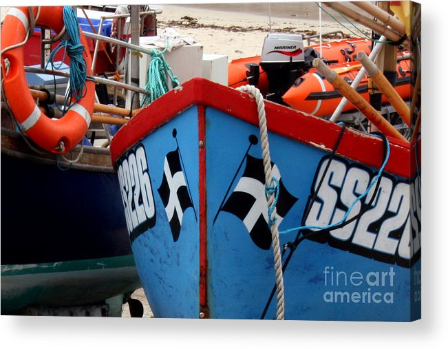 Harbour Acrylic Print featuring the photograph Working Harbour by Terri Waters