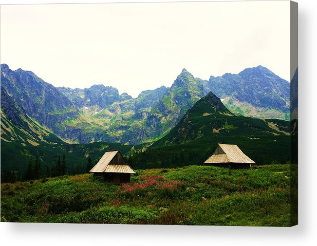 Mountains Acrylic Print featuring the photograph Zakopane II by Anna Szwiec