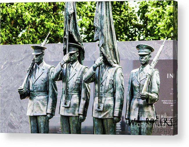 Washington Dc Acrylic Print featuring the photograph Air Force by William Rogers