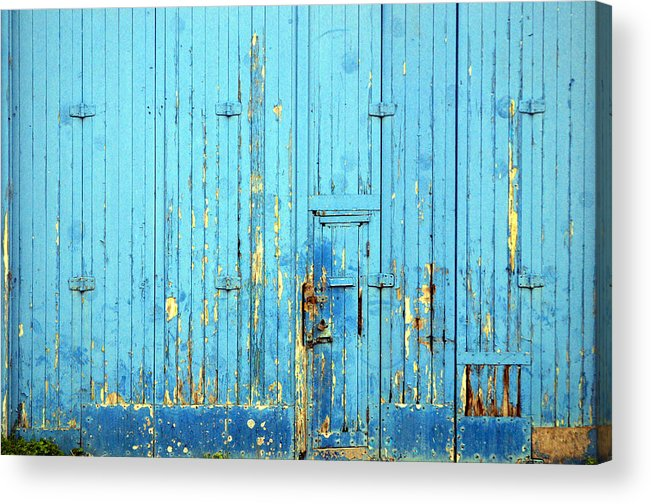 Photographer Acrylic Print featuring the photograph Blue Yonder by Jez C Self