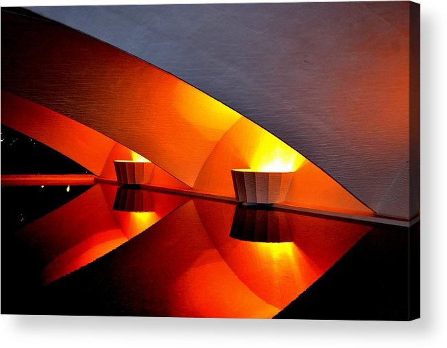 Color Composition Acrylic Print featuring the photograph Color Composition by Anand Swaroop Manchiraju