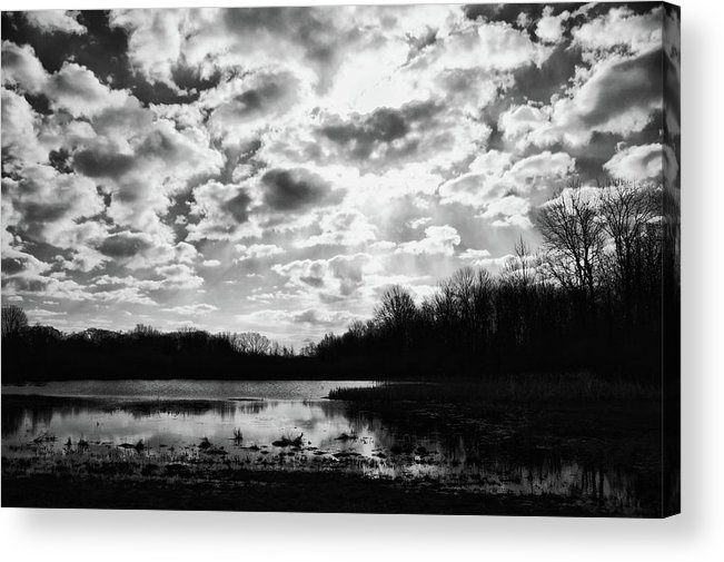 Sky Acrylic Print featuring the photograph Earth And Sky by Off The Beaten Path Photography - Andrew Alexander