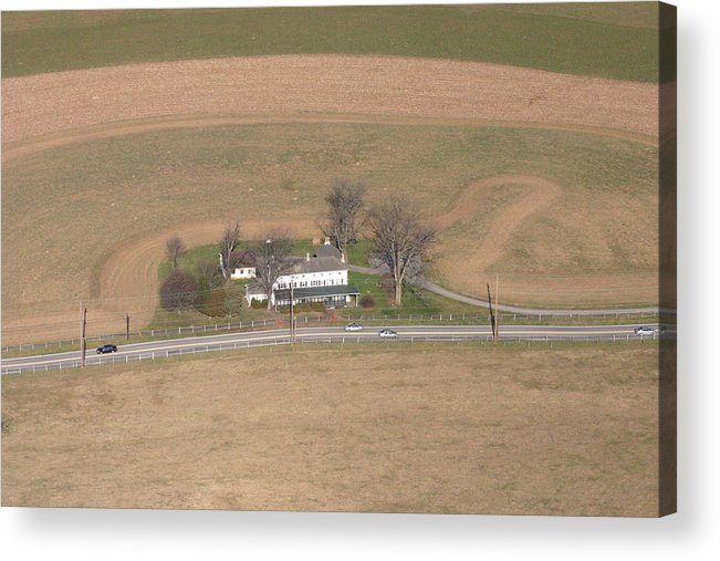 Erdenheim Acrylic Print featuring the photograph Erdenheim Farm by Duncan Pearson