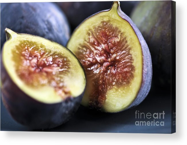 Fig Acrylic Print featuring the photograph Figs by Elena Elisseeva