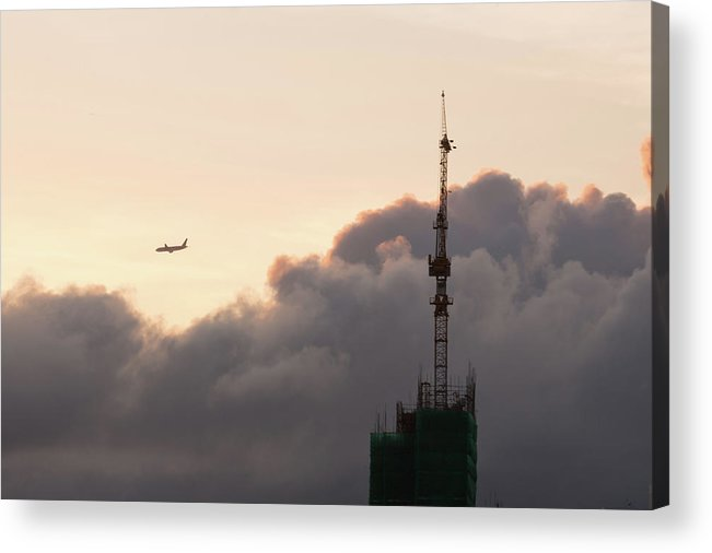 Cloud Acrylic Print featuring the photograph Flying by Kam Chuen Dung