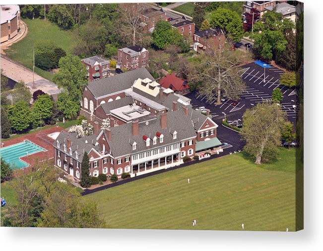 Germantown Acrylic Print featuring the photograph Germantown Cricket Club by Duncan Pearson