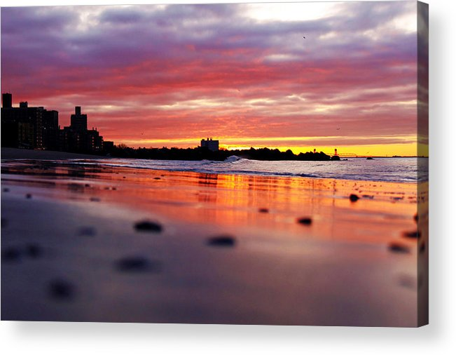 Sunrise Acrylic Print featuring the photograph Hallelujah by Mitch Cat