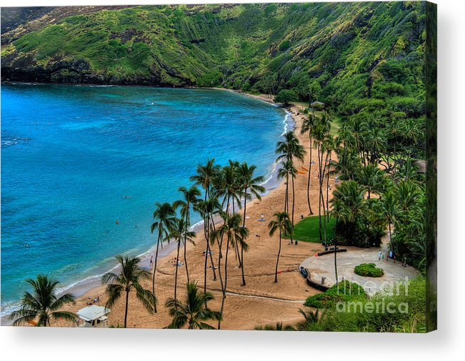 Hanauma Acrylic Print featuring the photograph Hanauma Bay by Neil Doren