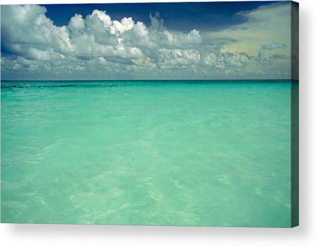 Belize Acrylic Print featuring the photograph Heaven by Skip Hunt