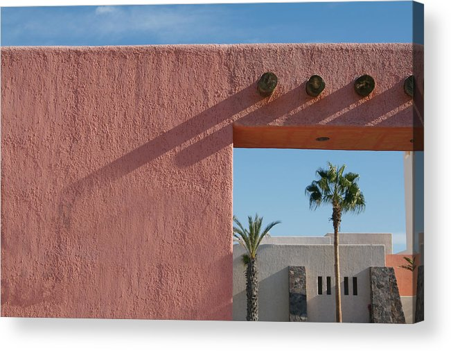 Unique Acrylic Print featuring the photograph Inn At Loreto Bay by Carl Purcell