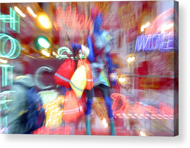 Photographer Acrylic Print featuring the photograph My World by Jez C Self