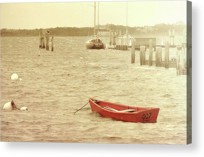 Nantucket Acrylic Print featuring the photograph Rough Seas by JAMART Photography