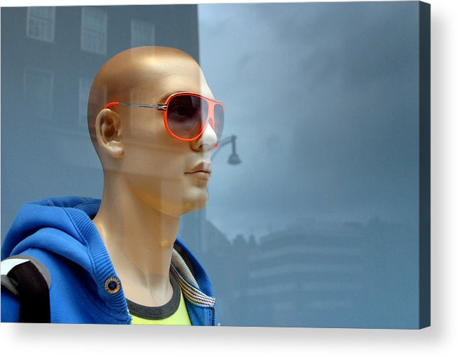 Photographer Acrylic Print featuring the photograph Sean 2 by Jez C Self