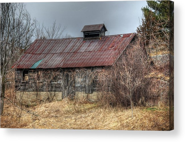 Rcouper Acrylic Print featuring the photograph Small Barn by Rick Couper