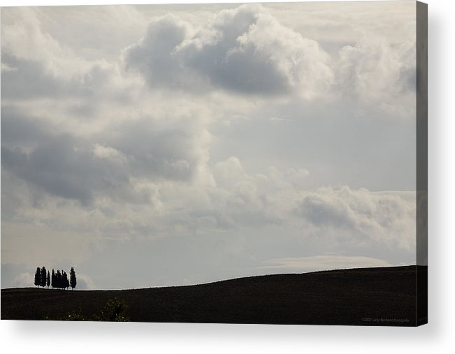 Italy Acrylic Print featuring the photograph Tuscany by Luigi Barbano BARBANO LLC