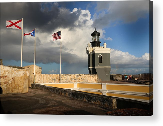 Old San Juan Puerto Rico Acrylic Print featuring the photograph Old San Juan Puerto Rico by Joseph Semary