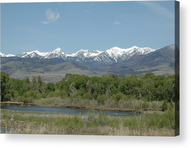 Landscape Acrylic Print featuring the photograph Untitled by Kathy Schumann