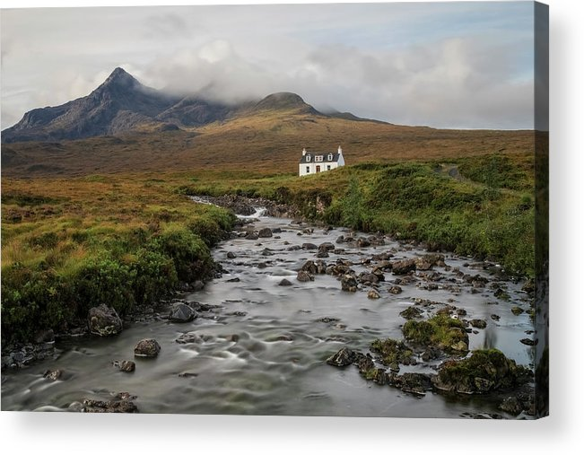Sligachan Acrylic Print featuring the photograph Sligachan - Isle Of Skye by Joana Kruse