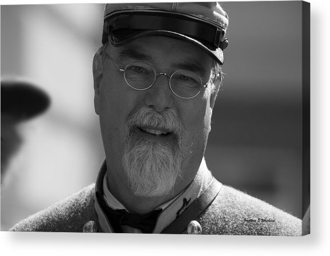 Civil War Acrylic Print featuring the photograph 150th Anniversary Of The American Civil War September 22 2012 Warrenton Virginia by Jonathan Whichard