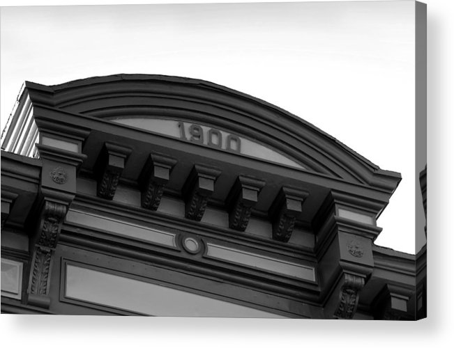 1900.architecture Acrylic Print featuring the photograph 1900 by David Lee Thompson