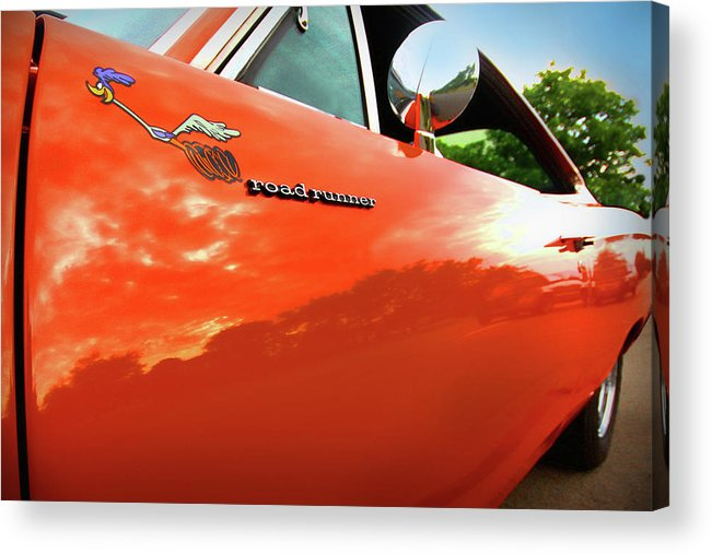 1969 Acrylic Print featuring the photograph 1969 Plymouth Road Runner 440 Roadrunner by Gordon Dean II