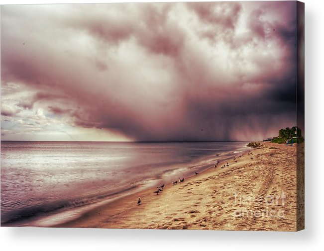 Landscape Acrylic Print featuring the photograph Brewing Storm by Glenn Forman