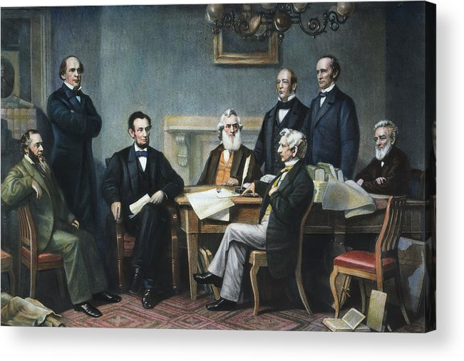 1862 Acrylic Print featuring the photograph Emancipation Proclamation by Granger
