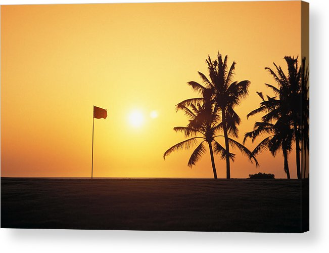 Afternoon Acrylic Print featuring the photograph Mauna Kea Beach Resort by Carl Shaneff - Printscapes