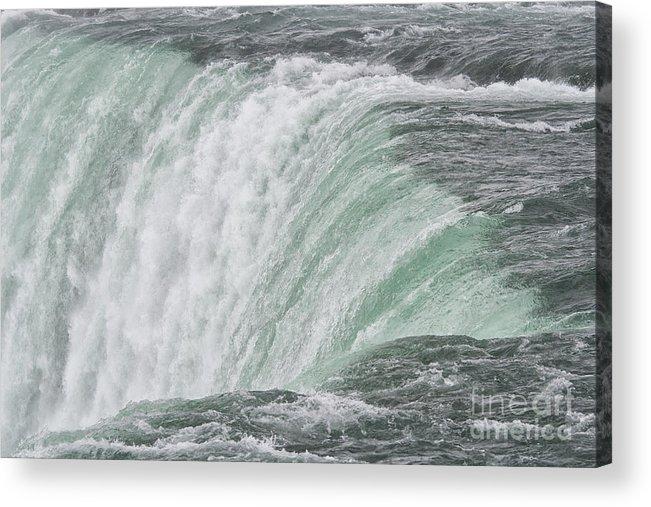 Niagra Acrylic Print featuring the photograph Niagara Falls by Patricia Hofmeester