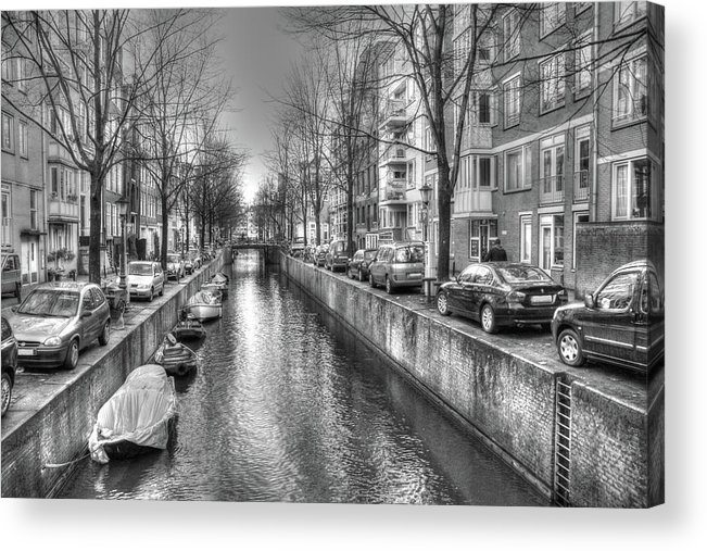 Amsterdam Acrylic Print featuring the digital art 279 by Mark Brooks
